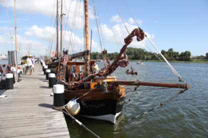 historischer Hafen Kappeln