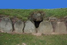 Eingang Dolmen
